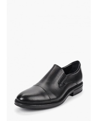 Мужские черные кожаные лоферы от Emanuele Gelmetti