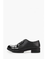 Женские черные кожаные лоферы от Pierre Cardin