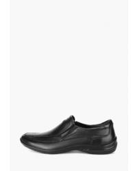 Мужские черные кожаные лоферы от S-tep