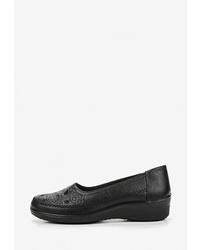 Женские черные кожаные лоферы от T.Taccardi