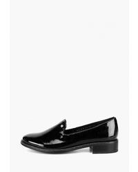 Женские черные кожаные лоферы от Westfalika