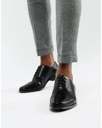 Черные кожаные оксфорды от ASOS DESIGN