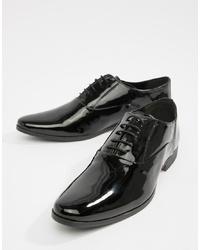 Черные кожаные оксфорды от Kg Kurt Geiger