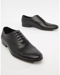 Черные кожаные оксфорды от Office