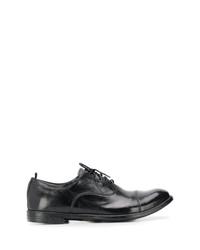 Черные кожаные оксфорды от Officine Creative