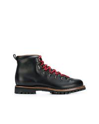 Мужские черные кожаные повседневные ботинки от Car Shoe