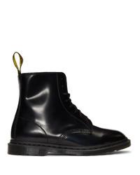 Мужские черные кожаные повседневные ботинки от Dr. Martens