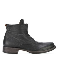 Мужские черные кожаные повседневные ботинки от Fiorentini+Baker