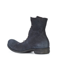 Мужские черные кожаные повседневные ботинки от A Diciannoveventitre