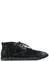 Мужские черные кожаные повседневные ботинки от Marsèll