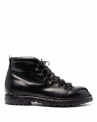 Мужские черные кожаные повседневные ботинки от Officine Creative