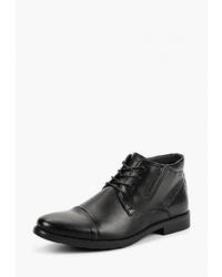 Мужские черные кожаные повседневные ботинки от T.Taccardi