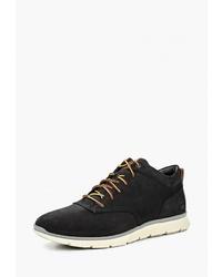 Мужские черные кожаные повседневные ботинки от Timberland