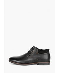 Мужские черные кожаные повседневные ботинки от Westfalika