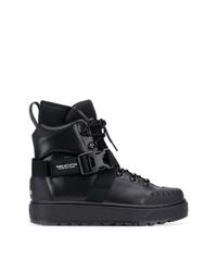 Мужские черные кожаные рабочие ботинки от Puma