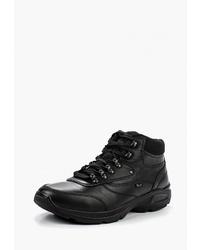 Мужские черные кожаные рабочие ботинки от Ralf Ringer