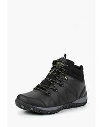 Мужские черные кожаные рабочие ботинки от T.Taccardi