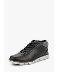 Мужские черные кожаные рабочие ботинки от Trien