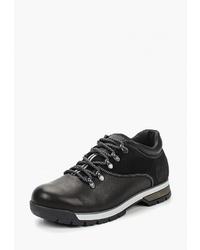 Мужские черные кожаные рабочие ботинки от Valley