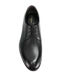 Черные кожаные туфли дерби от Balenciaga