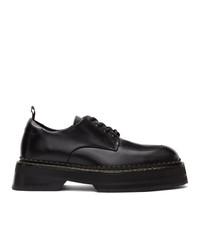 Черные кожаные туфли дерби от Eytys