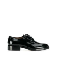 Черные кожаные туфли дерби от Givenchy