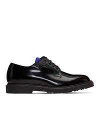 Черные кожаные туфли дерби от Paul Smith
