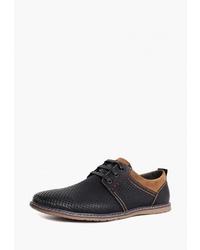 Черные кожаные туфли дерби от T.Taccardi