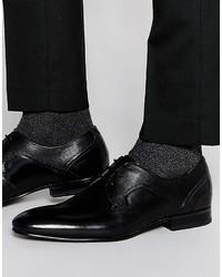 Мужские черные кожаные туфли дерби от Ted Baker