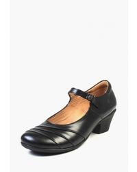 Черные кожаные туфли от Airbox