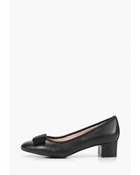 Черные кожаные туфли от Alessio Nesca