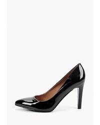 Черные кожаные туфли от Betsy