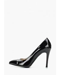 Черные кожаные туфли от Fagro
