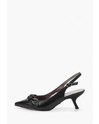 Черные кожаные туфли от Graciana