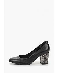 Черные кожаные туфли от Indiana