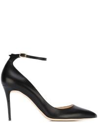 Женские черные кожаные туфли от Jimmy Choo