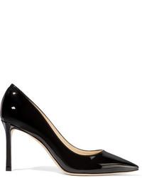 Черные кожаные туфли от Jimmy Choo