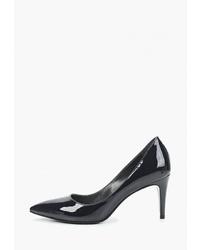 Черные кожаные туфли от Madeleine