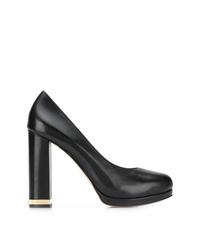 Черные кожаные туфли от Michael Kors