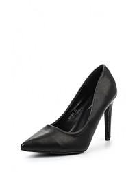 Черные кожаные туфли от Mimoda