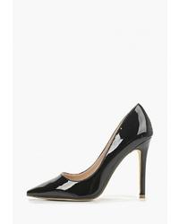 Черные кожаные туфли от Super Mode