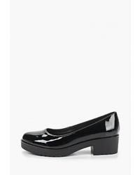 Черные кожаные туфли от T.Taccardi