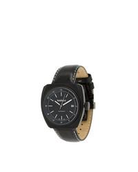 Мужские черные кожаные часы от Baldinini