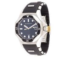 Женские черные кожаные часы от Givenchy