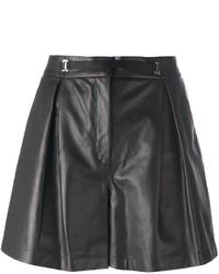 Женские черные кожаные шорты от La Perla