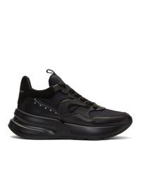 Мужские черные кроссовки от Alexander McQueen