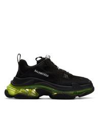 Мужские черные кроссовки от Balenciaga