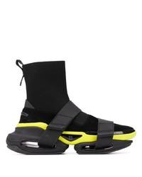 Мужские черные кроссовки от Balmain