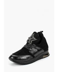 Женские черные кроссовки от Brulloff