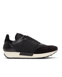 Мужские черные кроссовки от Moncler